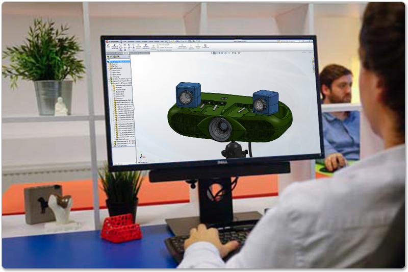3D-CAD-Konstruktion