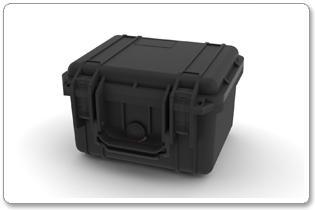 Produktvisualisierung in 3D von Transportkoffer